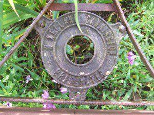 vintage Roller, Walled Gardens of Cannington