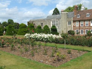 Rose Garden, Hall Place