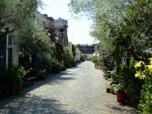 The Forested Mews, Bathurst Mews