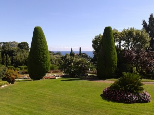 Parc des Residences Champfleuri, view