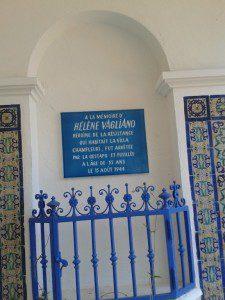 Memorial to Helene Vagliano