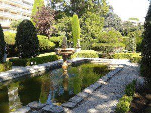 Italian garden, Champfleuri, Cannes
