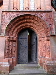Watts Chapel Doorway