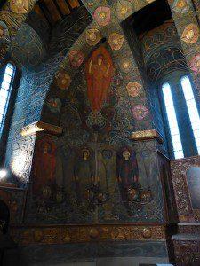 Watts Chapel Interior, Compton