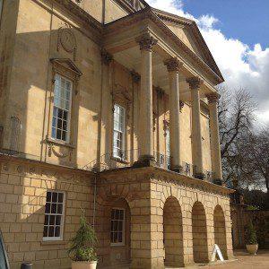 Entrance portico, Holburne Museum, Bath