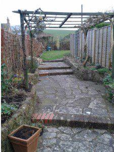 The ensuite garden