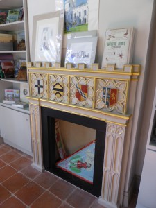 Fireplace, Waiting Room, Shop, Strawberry Hill
