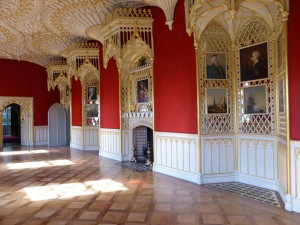 The Gallery, Strawberry Hill, Horace Walpole