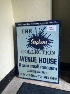 Stephens House Sign