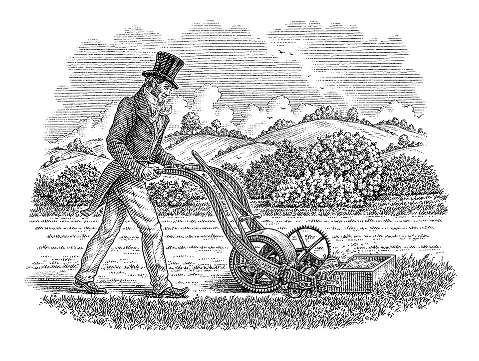 Lawnmower_illustration by Dave Hopkins